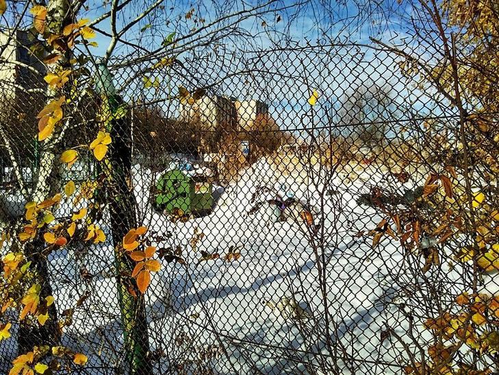 Як сніг оголив сміття Садового у Львові (ВІДЕО, ФОТО) - фото 4