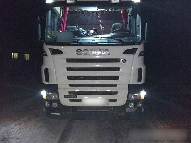 На Полтавщині знову затримали вантажівки із львівським сміттям - фото 1