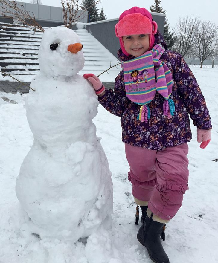Парад сніговиків у Бердянську - фото 5