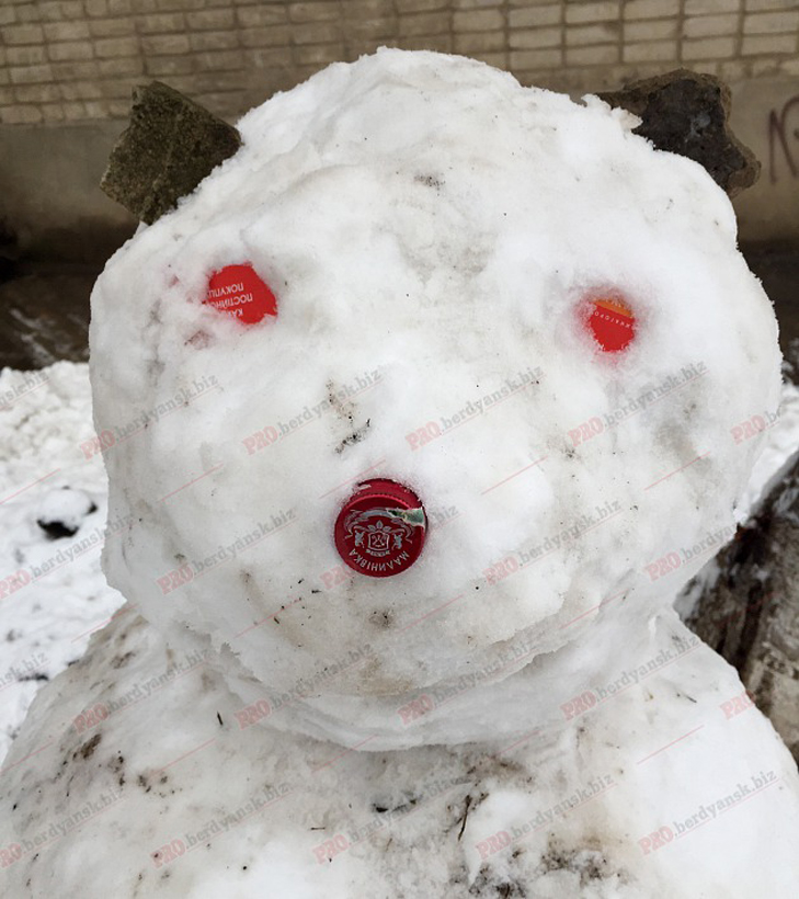 Парад сніговиків у Бердянську - фото 8