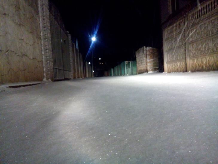 Мелітополь вкрило снігом - фото 1