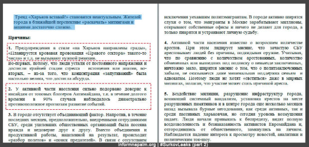 Сурков координував дестабілізацією Харкова у 2014 році, - переписка (ФОТО) - фото 4