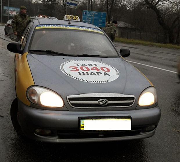 """У """"дивного"""" пасажира таксі знайшли наркотики - фото 1"""