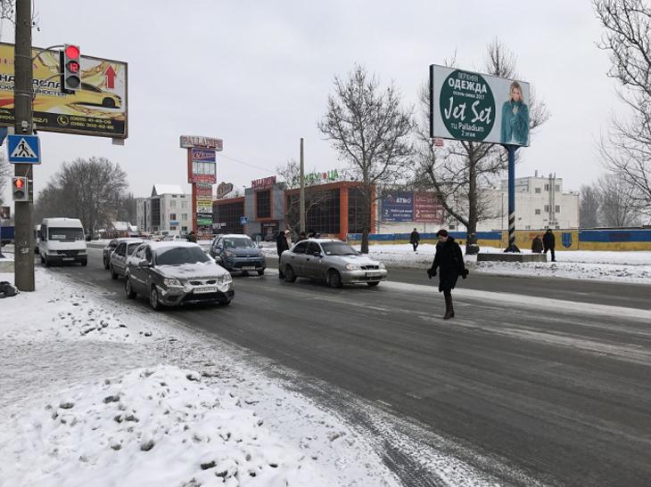 У центрі Мелітополя таксі потрапило в ДТП - фото 2
