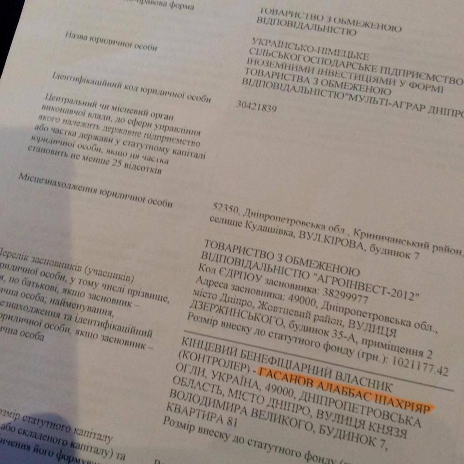 """Землі Хмельниччини """"окупувало"""" російське підприємство з Дніпра - фото 1"""
