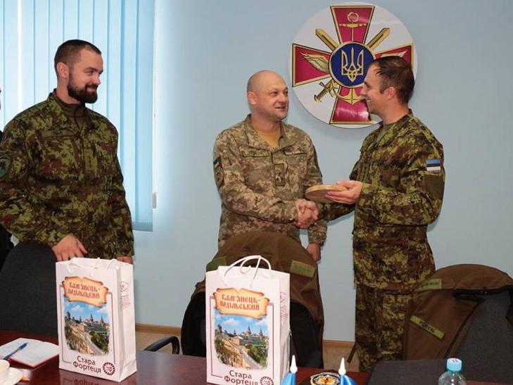 Естонські сапери переймали досвід роботи українських колег в Кам'янці - фото 5