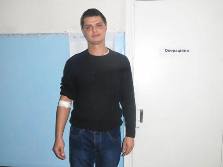 Як у Лубнах поліцейські кров здавали - фото 2