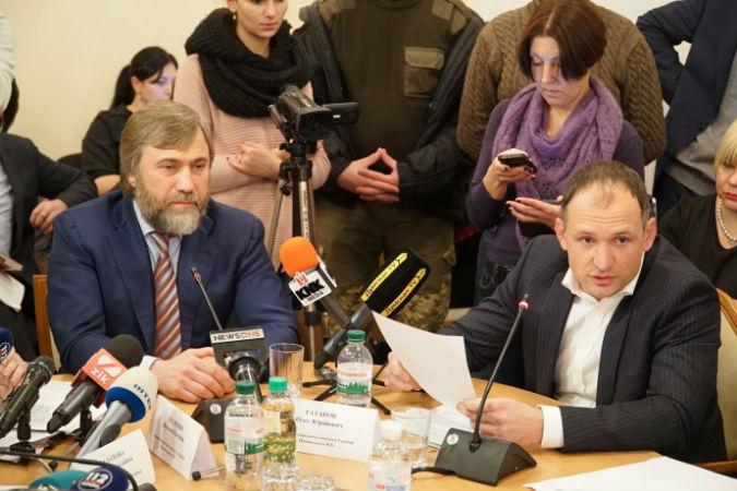 Новинського в парламенті захищає підлеглий Захарченка - фото 1