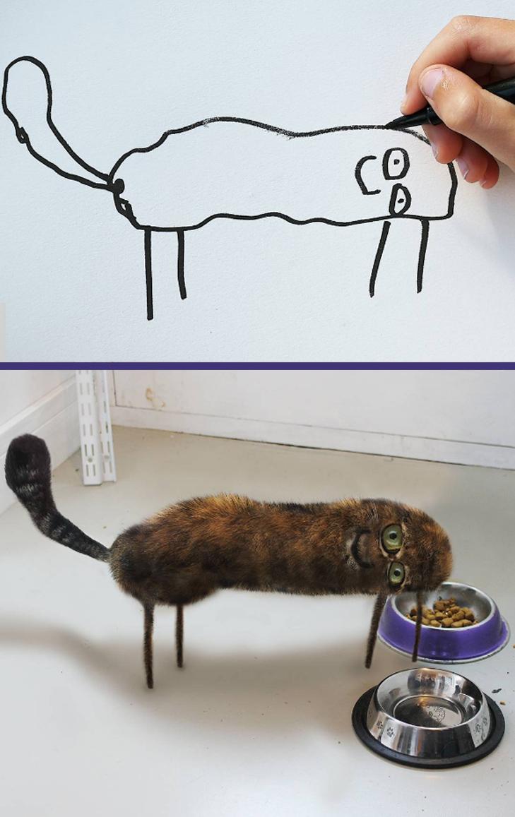 Як будуть виглядати дитячі малюнки, якщо їх оживити - фото 2