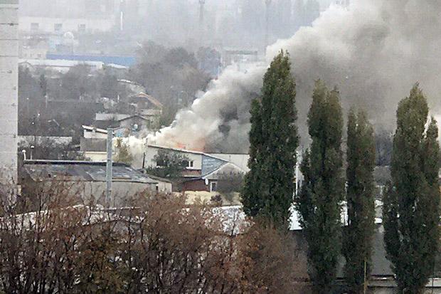 У Харкові горить приватний житловий будинок - фото 1