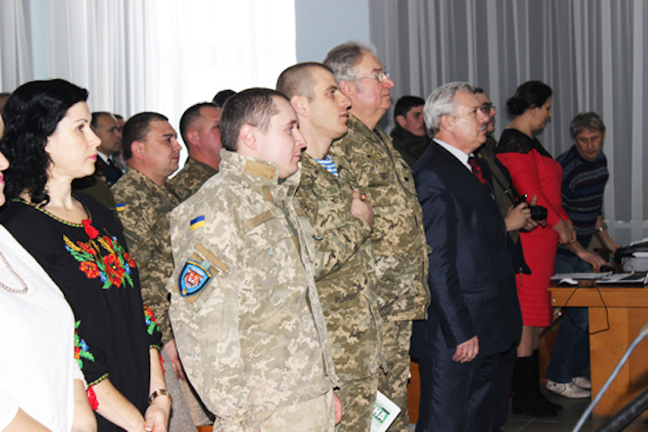 У Лубнах нагородили медалями українських захисників - фото 1