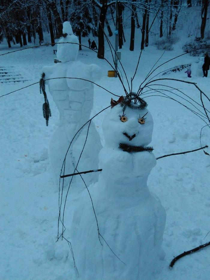 Як львів'яни радіють снігу (ФОТО) - фото 4