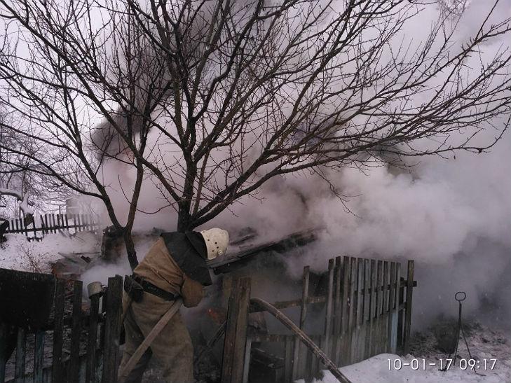 На Полтавщині вщент згорів приватний будинок - фото 1