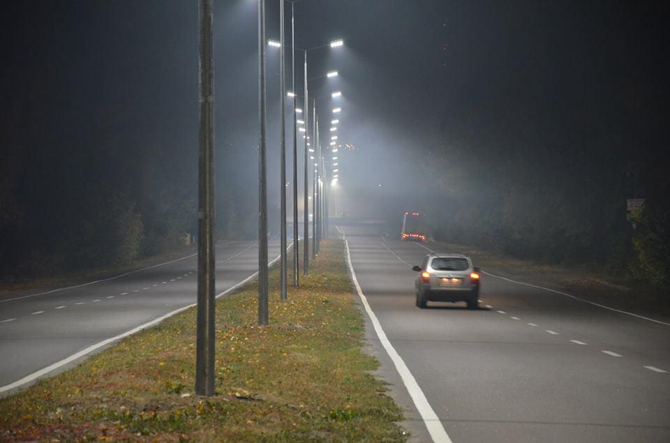На виїзді з Вінниці встановили сотню нових ліхтарів  - фото 2