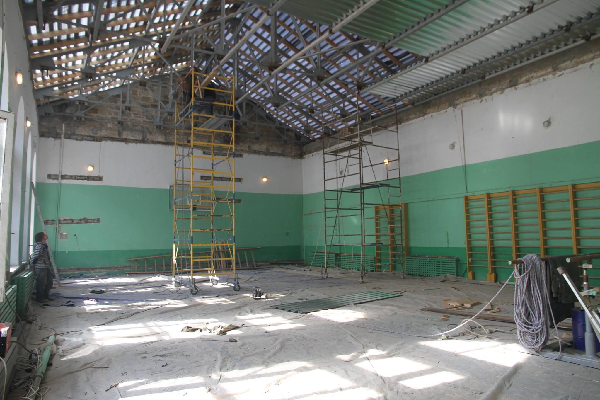 У Миколаєві ремонтують історичну будівлю Першої української гімназії