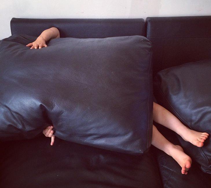 30 кумедних прикладів, як діти грають в хованки - фото 16