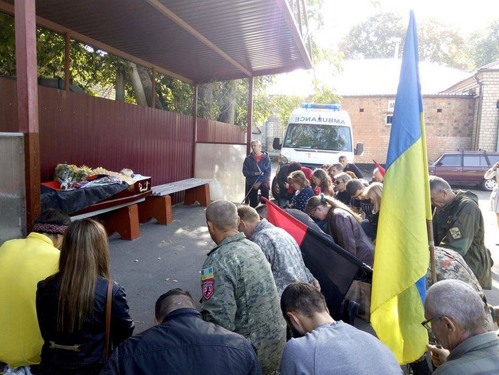 Вбою наДонбассе умер боец «Правого сектора»