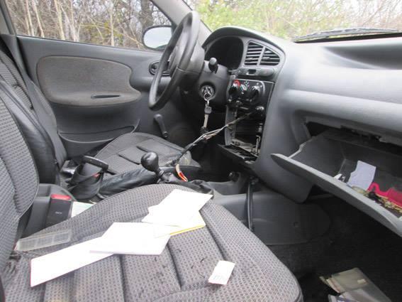 На Миколаївщині злодії залишили крадений автомобіль в полі