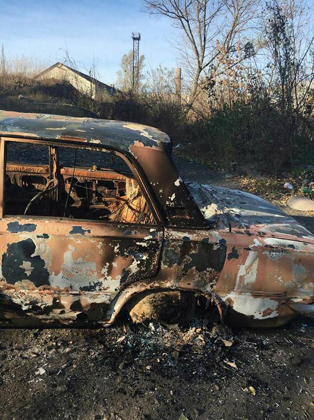 Патрульні знайшли згоріле авто - фото 2