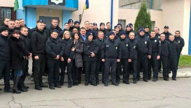 Деконаїдзе представила нового начальника патрульних у Харкові (ФОТО) - фото 2