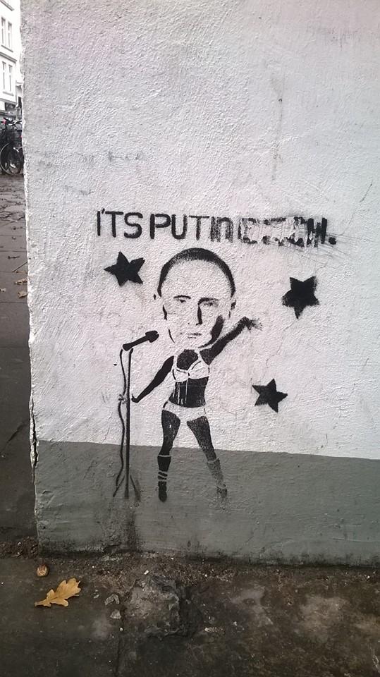В Гамбурзі знайшли Путіна в образі путани (ФОТОФАКТ) - фото 3