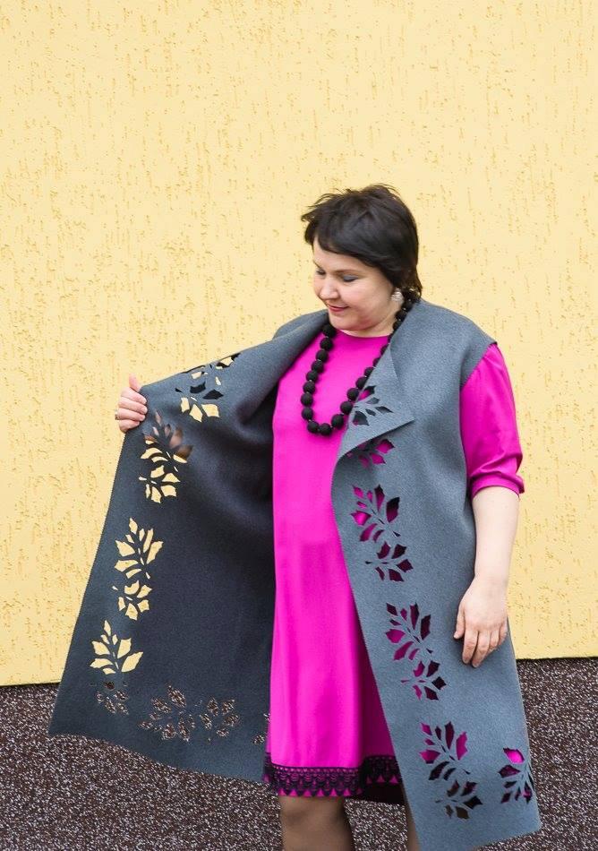 Вінницька дизайнерка Леся Зіанурова представить колекція, наділену особливою енергетикою - фото 1