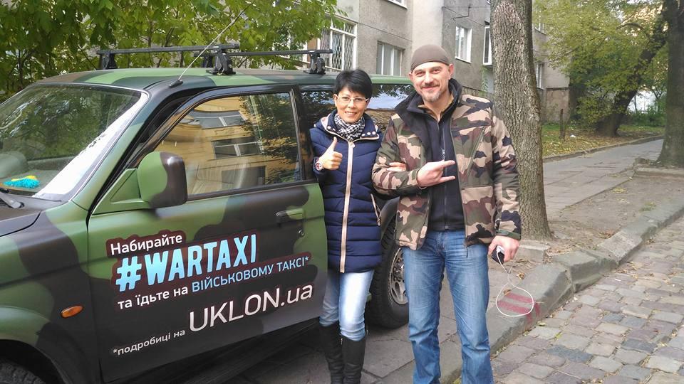 Скандал з Wartaxi: У Львові шахраї зняли з волонтерського авто номери (ФОТО) - фото 1