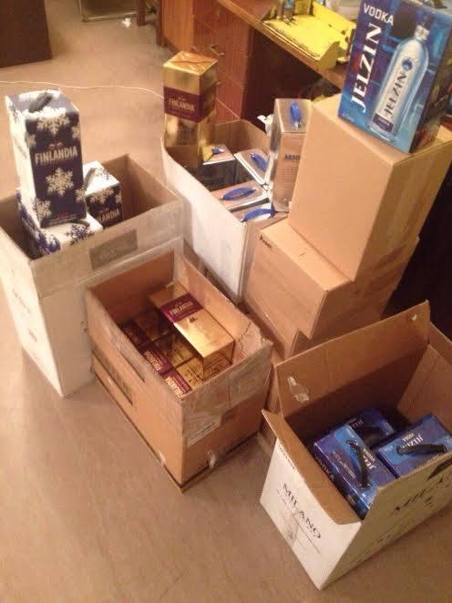 У Харкові податкова міліція вилучила 198 літрів алкоголю - фото 1