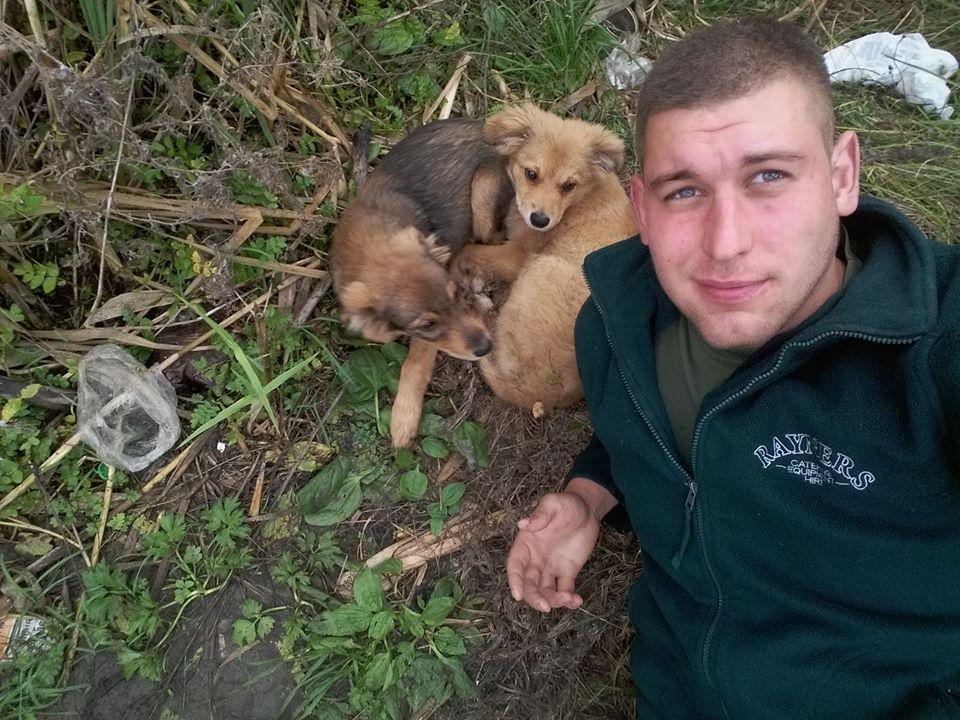 Чим займаються на Донбасі найкращі друзі бійців АТО - 9 - фото 10