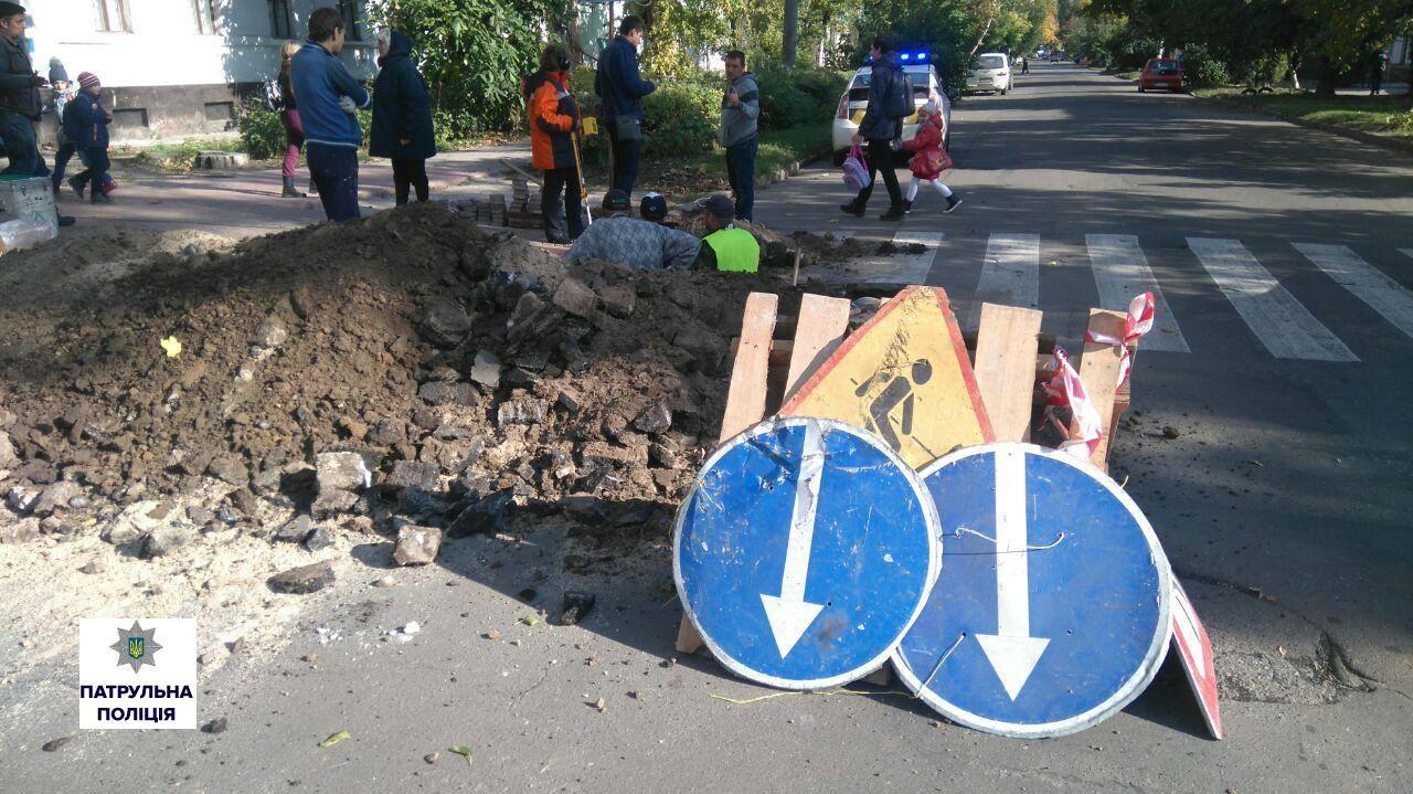 Миколаївські дорожники підключали будинок до газу без дозволів поліції