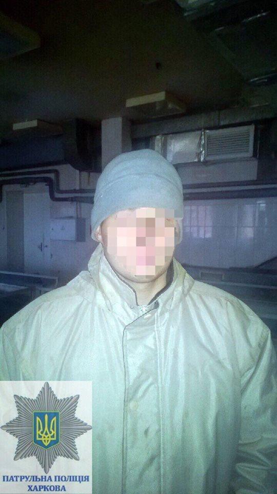 У Харкові затримали молодика, який із сокирою пограбував склад холодильників - фото 1