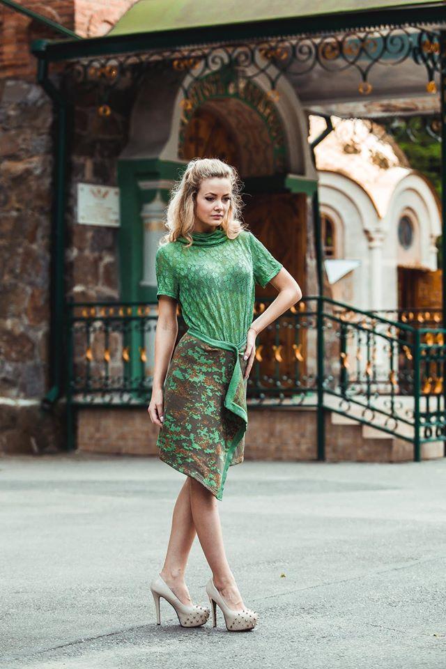 Дизайнерка Наталя Горбонос одягне вінничанок в мілітарі і надихне займатись коханням - фото 1