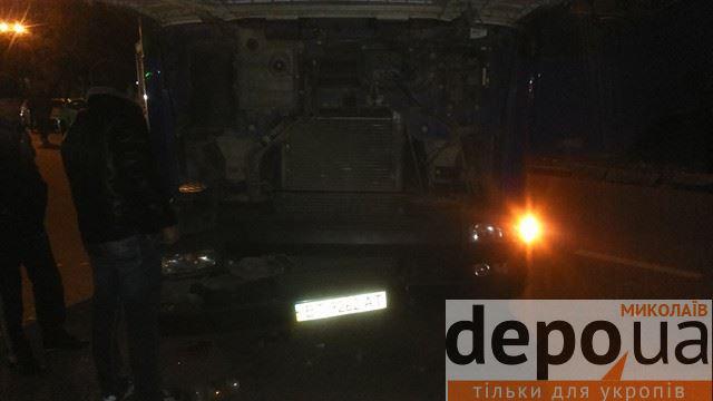 У Миколаєві через ДТП на Садовій знов ускладнено рух