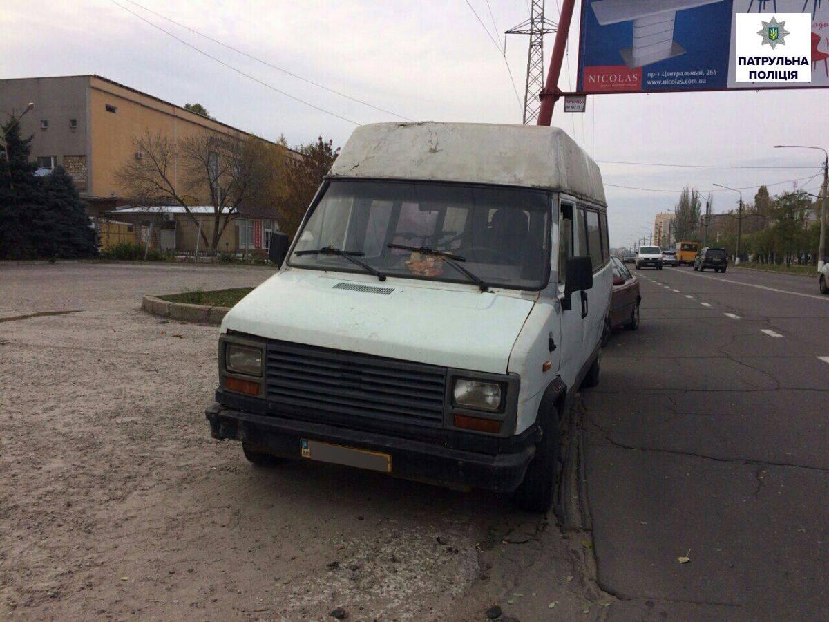 У Миколаєві затримали мікроавтобус з краденими велосипедами