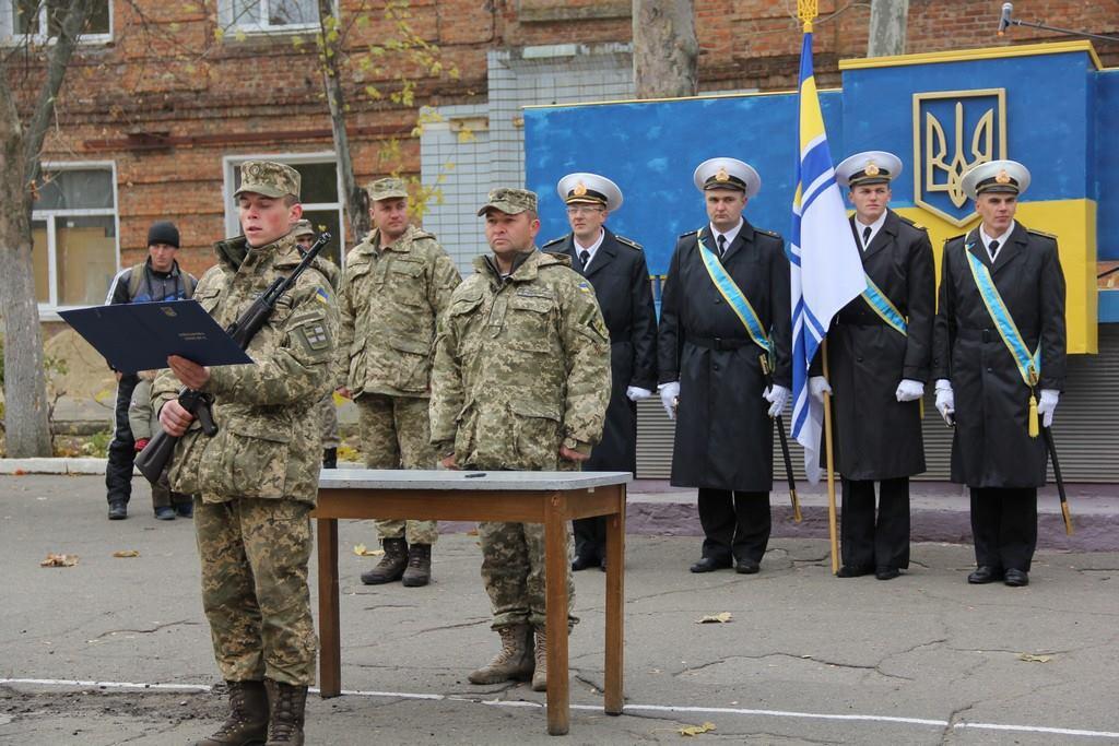 У Миколаєві присягнули на вірність народові 50 бійців ВМС