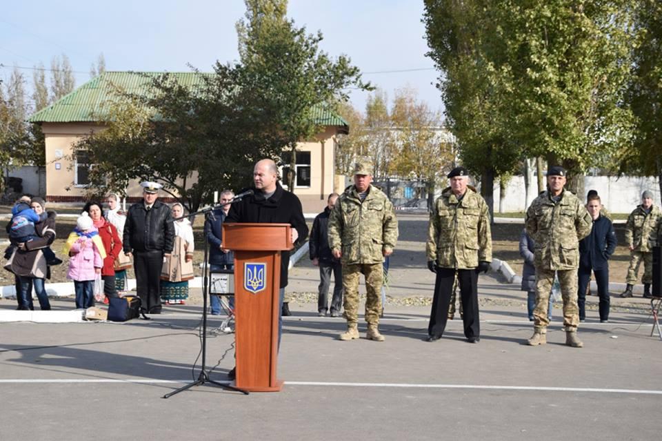 Миколаїв зустріч морпіхів 36 бригади, що майже півтора роки були в АТО
