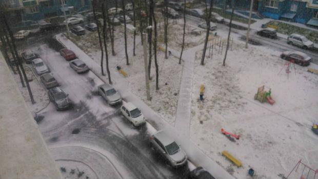 У Харкові випав сніг (ФОТО) - фото 2