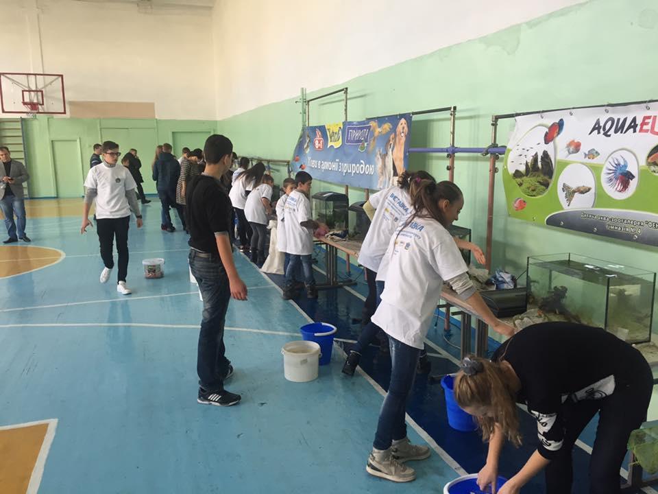 У Миколаєві юні акваріумісти змагалися за першість