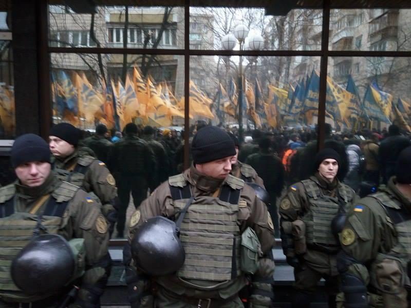 Третя річниця Майдану (ФОТОРЕПОРТАЖ) Оновлюється - фото 8