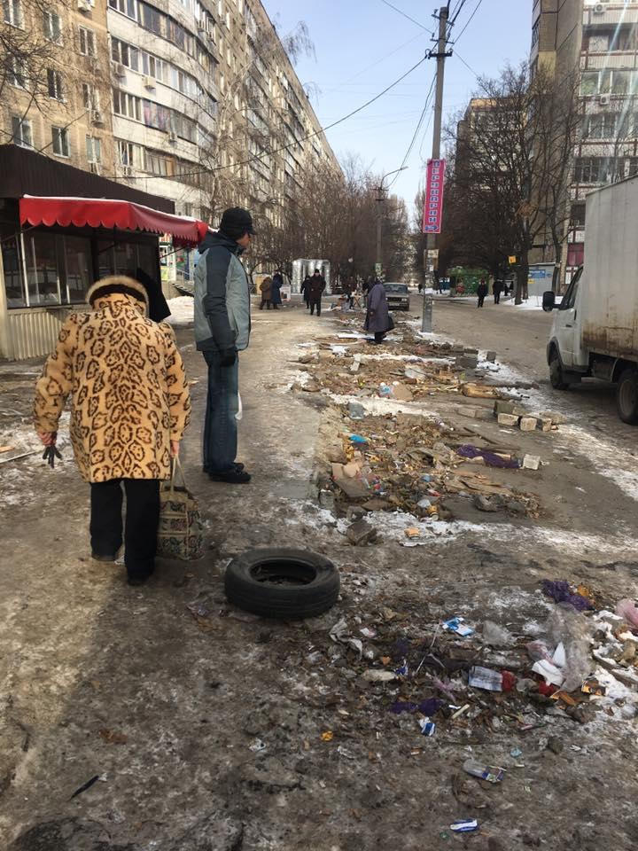 У Дніпрі на Клочко зникли кіоски - фото 2