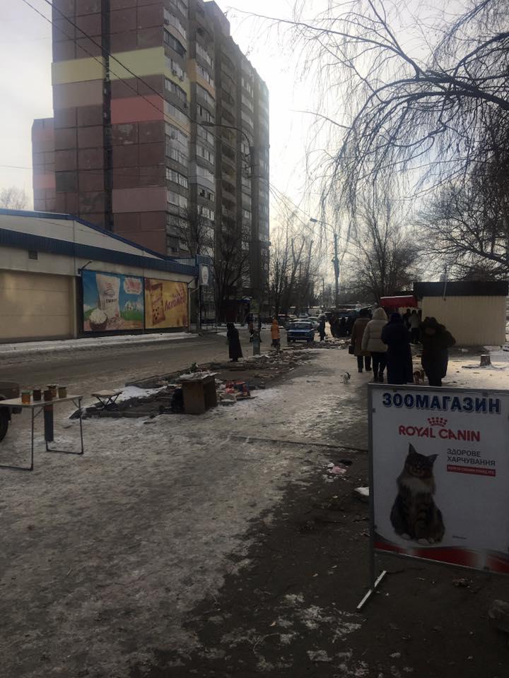 У Дніпрі на Клочко зникли кіоски - фото 1