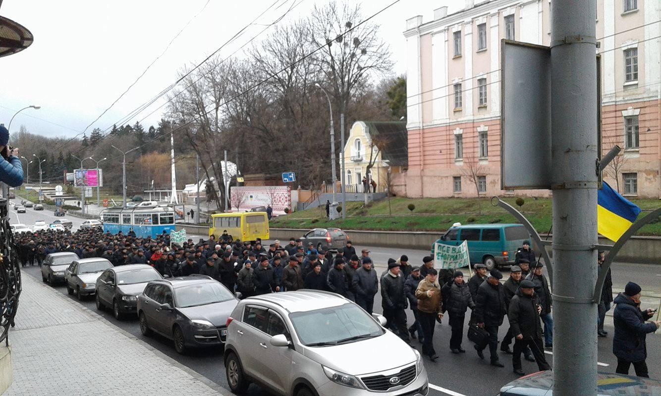 У Вінниці збунтувались колишні міліціонери: Вимагають збільшення пенсій та відставки Авакова - фото 10