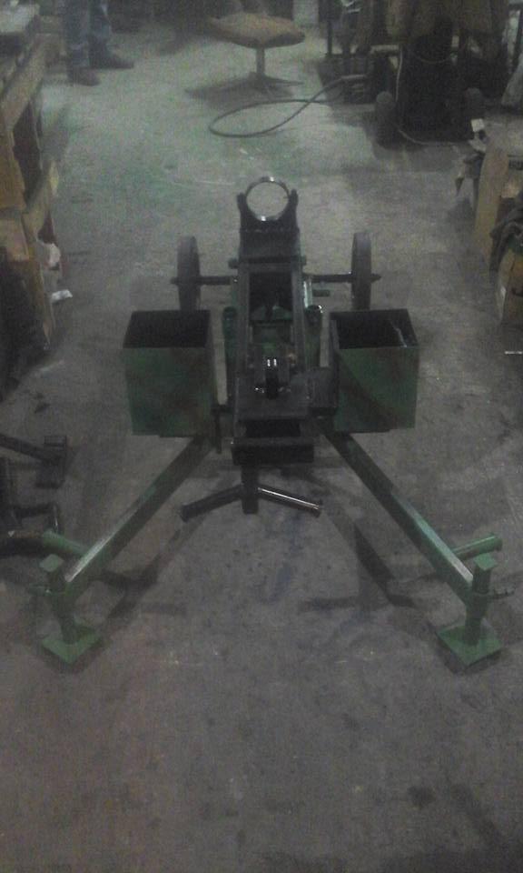Волонтерський хендмейд в АТО: саморобні станки для важких кулеметів - фото 1