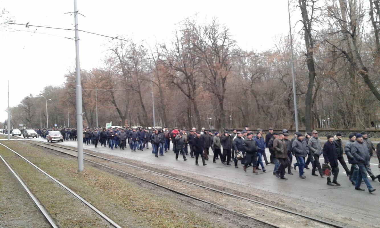 У Вінниці збунтувались колишні міліціонери: Вимагають збільшення пенсій та відставки Авакова - фото 5