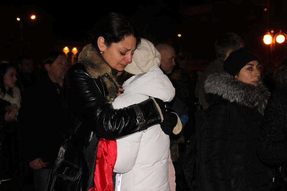 Загиблих на Світлоградській дузі пом'янули у Вінниці - фото 6