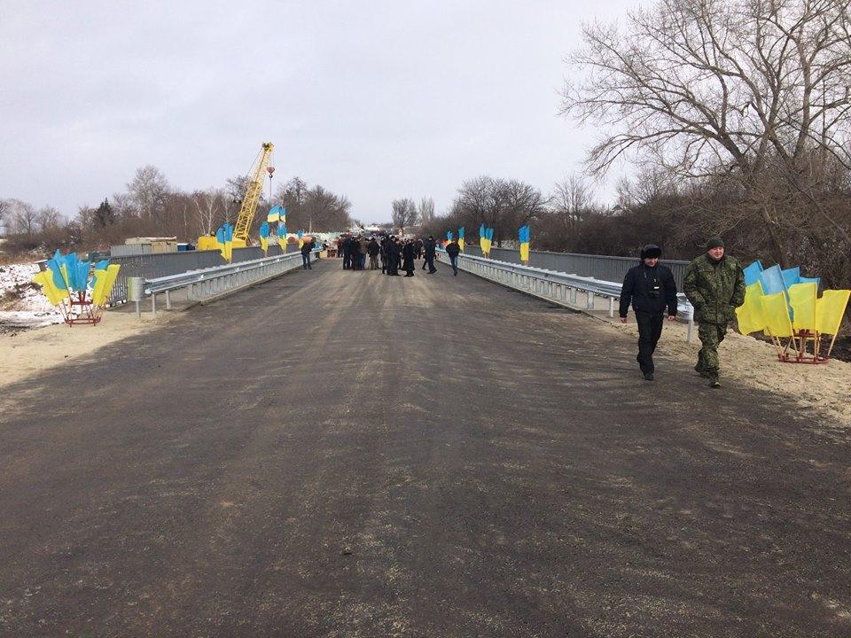 ВСеверске Донецкой области восстановили взорванный мост