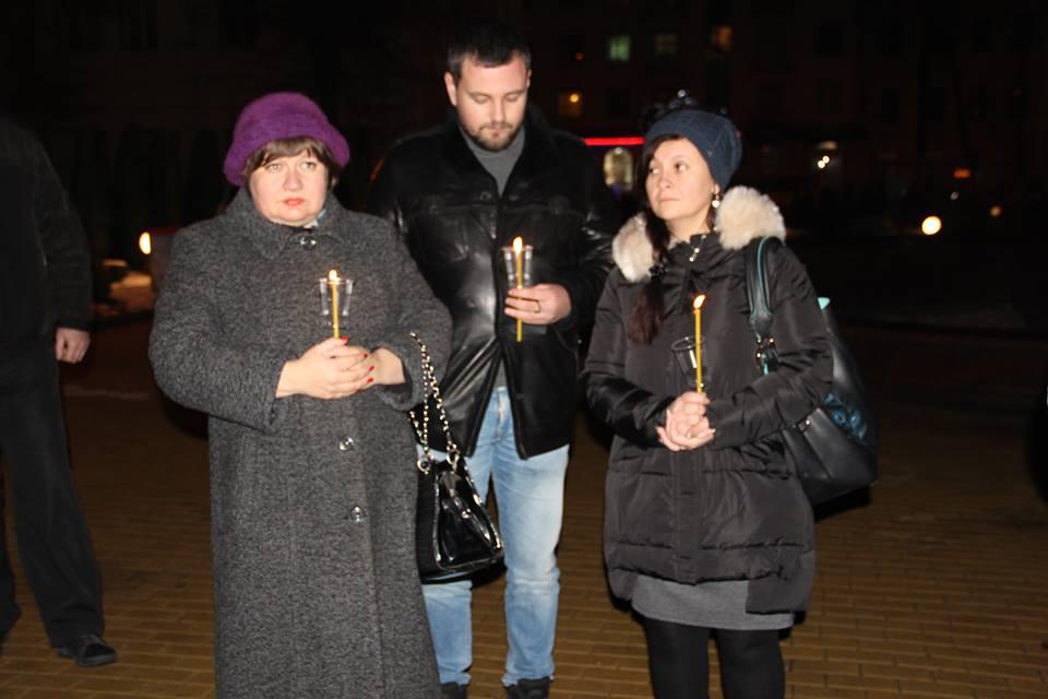 Загиблих на Світлоградській дузі пом'янули у Вінниці - фото 1