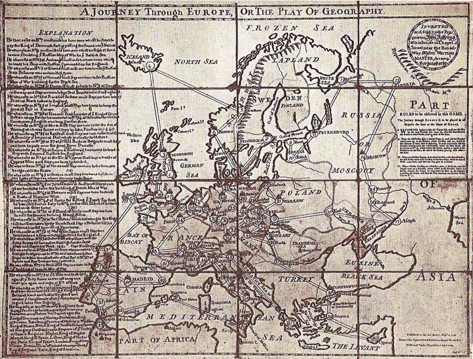 Як виглядала Україна у настільній грі, що вийшла 250 років тому (КАРТА) - фото 1