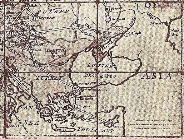 Як виглядала Україна у настільній грі, що вийшла 250 років тому (КАРТА) - фото 2