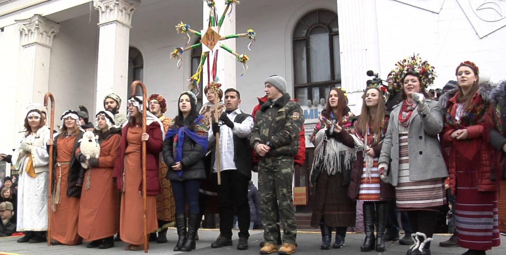 Як у Маріуполі щедрував вертеп зі Львова (ФОТО) - фото 3